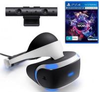 Очки виртуальной реальности PlayStation VR (Camera +VR Worlds)