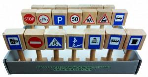 Игровой набор Graisya Винни Пух 'Дорожные знаки' (11021)