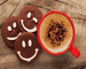 Картина по номерам Brushme 'Кофе с печеньем' (GX28408)