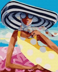 Картина по номерам Brushme 'Коктейль на пляже' (GX29730)
