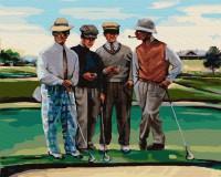 Картина по номерам Brushme 'Партия в гольф' (GX29723)