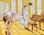 Картина по номерам Brushme 'Балерины на разминке' (GX8517)