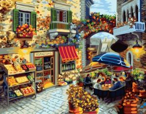 Картина по номерам 'Домашний ресторанчик'