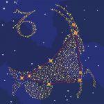 Картина по номерам Идейка Звездный знак 'Козерог' с краской металлик 50х50 см (KH9510)