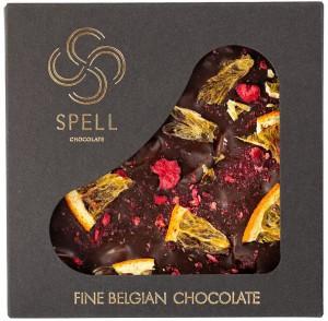 Подарок Шоколад Spell Dark chocolate 70% & citrus 90 г