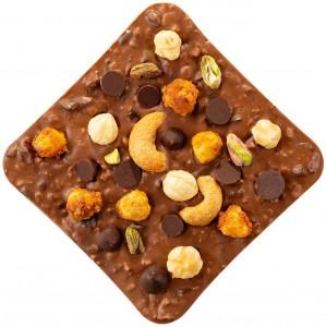 фото Шоколад Spell Milk Chocolate & Best Nuts 120 г #2