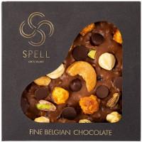 Подарок Шоколад Spell Milk Chocolate & Best Nuts 120 г