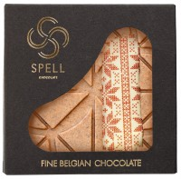 Подарок Шоколад Spell White Chocolate With Waffels & Malt 100 г