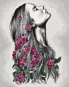 Картина по номерам Идейка Люди 'Расцветаю' 40х50 см (KHO4576)