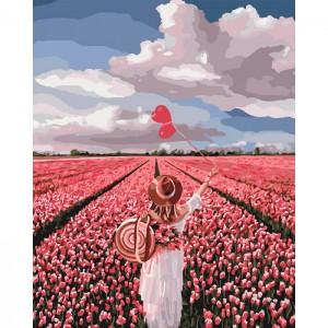 Картина по номерам Идейка 'Розовая мечта' 40х50 см (KHO4603)