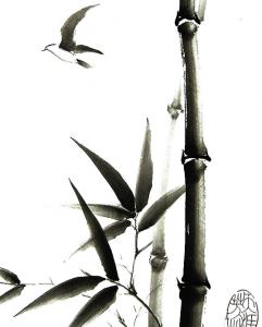 фото страниц Суми-э — японская живопись тушью #8