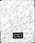 Книга Блокнот «Tse_Tobi» з чорними сторінками (білий) + ручка