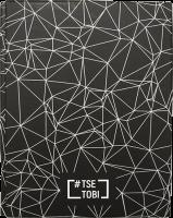Книга Блокнот «Tse_Tobi» з чорними сторінками (чорний) + ручка
