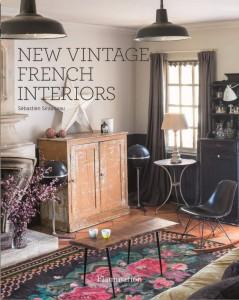 Книга New Vintage French Interiors
