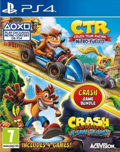 игра Crash Team Racing Nitro Fueled + Crash Bandicoot N Sane Trilogy  PS4
