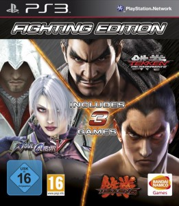 игра Fighting Edition PS3 Комплект из Tekken 6, Tekken Tag Tournament 2 и Soulcalibur 5