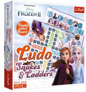 Настольная игра Trefl  'Frozen 2: Ludo. Snakes and Ladders' (4303)