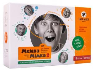 Настольная игра Така Мака 'Мемка  и мимка -2 ' (3969)