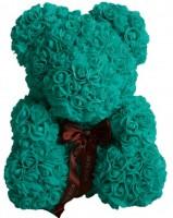 Подарок Мишка из роз UFT Bear Flowers UFT BB3 Turquoise (BB3)