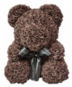 Подарок Мишка из роз UFT Bear Flowers UFT BB4 Coffee (BB4)