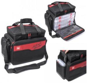 Сумка риболов. LJ LURE BAG L  (4+2 коробка) 35х50х25см / 112B (LJ112B)