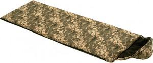 Спальный мешок одеяло Champion Average с капюшоном Камуфляжный (NE-S-1276)