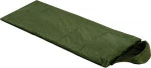 Спальный мешок одеяло Champion Average с капюшоном Зеленый (NE-S-1277)