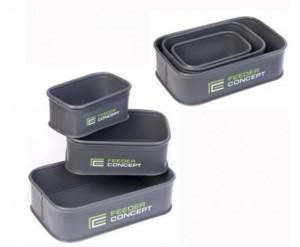 Емкость для прикормки Salmo  Feeder Concept EVA 3шт. (FC101B)