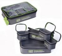 Емкость для прикормки Salmo Feeder Concept EVA 3шт. (FC105B)