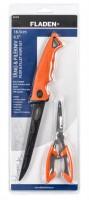 Набор Fladen Filetknife 16cm, plier set (филейный нож, кусачки) (28-17-20)