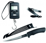 Набор Fladen Maxxsharp set of filet knife 6', 40kg digital scaler, line clipper (цифровые весы, филе (28-17004)