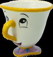 Подарок Чашка 3D Disney Beauty and the Beast Chip (Красавица и чудовище), 250мл, (ABYMUG623)