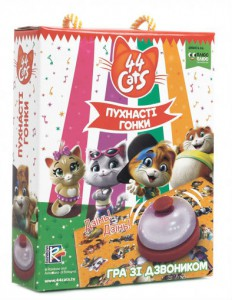 Настольная игра Vladi Toys '44 Cats. Пушистые гонки' (VT8010-07)
