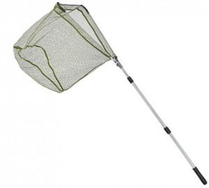 Подсак раскладной Balzer с прорезиненной сеткой 2.20м  голова 0.60м 3-х сост. (18231 220)