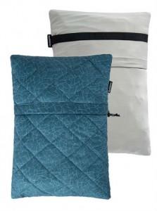 Подушка Naturehike  Sponge Square Pillow blue (NH19ZT001)