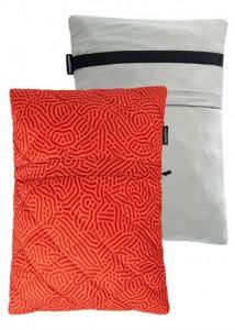 Подушка Naturehike  Sponge Square Pillow red (NH19ZT001)