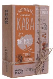 Подарок Кофейный набор с шоколадом Shokopack 'Кофе для мамы'