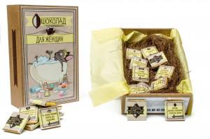 Набор шоколада Shokopack 'Крафт набор для женщин'