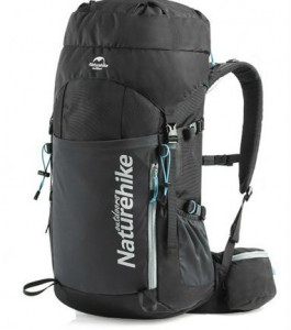 Рюкзак трекинговый Naturehike 45 л Black  (NH18Y045-Q)