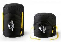 Компрессионный мешок Naturehike L 30х50 см black (NH19PJ020)