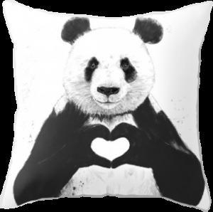 Оригинальная подушка 'All you need is love'