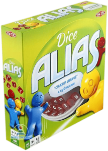 Настольная игра 'Alias с кубиками'