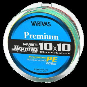 ШНУР VARIVAS JIGGING 10×10 PREMIUM PE X4 200M #1,2 (VA 13224)