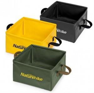 фото Ведро складное Naturehike Square bucket 13л army green (NH19SJ007) #3