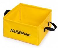 Ведро складное Naturehike Square bucket 13л yellow (NH19SJ007)