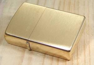 фото Зажигалка Zippo 'BR Fin Solid Brass' (204B) #2