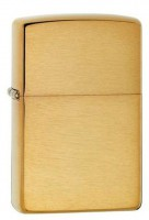 Зажигалка Zippo 'BR Fin Solid Brass' (204B)