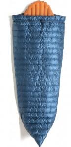 Спальник-одеяло пуховое Turbat Polonyna синий/желтый (012.005.0125)