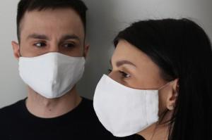 фото Защитная маска для лица, многоразовая #2
