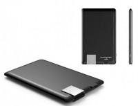 Внешний аккумулятор Xoopar 'Power Card, черный' (XP61057.21RV)